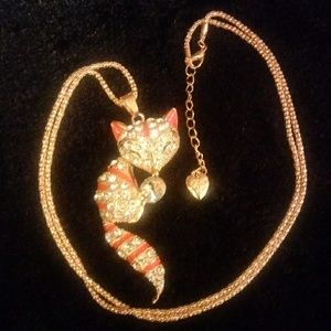 Betsey Jonhson Fox Necklace